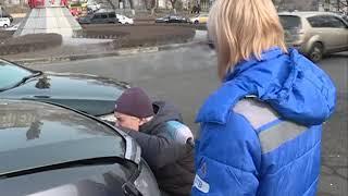Неуступчивый водитель внедорожника спровоцировал ДТП на Инструментальном заводе