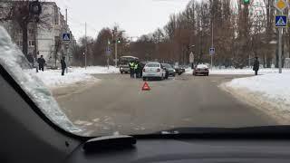 ДТП на перекрестке Полбина и Терешковой, Ульяновск
