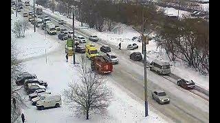 Smotriomsk.RU: Омск, камера на Дианова, 22, ДТП, 14.02.2018