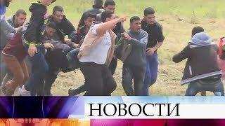 Совбез ООН провел экстренное заседание из-за столкновений на границе Израиля и Сектора Газа.