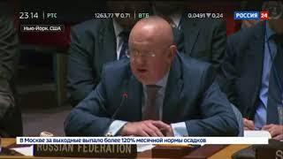 Небензя высказал мнение России по дискредитации Сирии в ООН