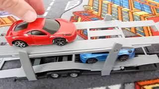 Мультики про машинки - Автовоз. Развивающий мультфильм для детей