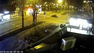 ДТП на розі вулиці Миколайчука-бульв.Бучми (04:40:11 08.04.2018)
