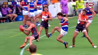 Liberatore goes down with suspected ACL injury - Round 1 2018 - AFL