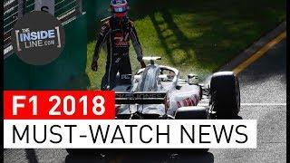 F1 NEWS 2018 - WEEKLY FORMULA 1 NEWS (27 MARCH 2018) [THE INSIDE LINE TV SHOW]