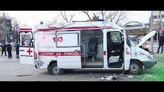 ДТП со скорой  водитель Subaru бросил в разбитой машине раненую спутницу