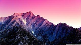 Природа и песнопения: Свете Тихий.  Nature HD and ortodox music Gladsome Light.