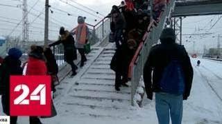 Снегопад столетия: за двое суток в Москве выпало 125 процентов месячной нормы осадков - Россия 24
