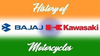 История мотоциклов Bajaj Kawasaki [перевод]