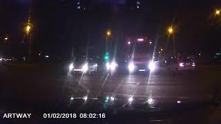 Дорожно-транспортное происшествие на Речицком проспекте