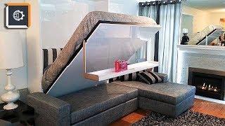 НЕВЕРОЯТНАЯ мебель ТРАНСФОРМЕР. Как увеличить пространсво в квартире?