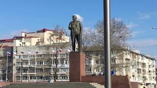 У Ленина дымится башня. Симферополь. Крым. Юмор.