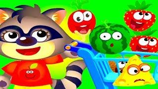 Funny Food 2 LEARNING Games - Learn Colors Shapes & Match Numbers - Best Educational Kids App